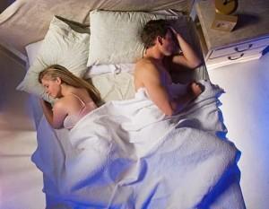 раздельный сон, совместный сон, секс в семье